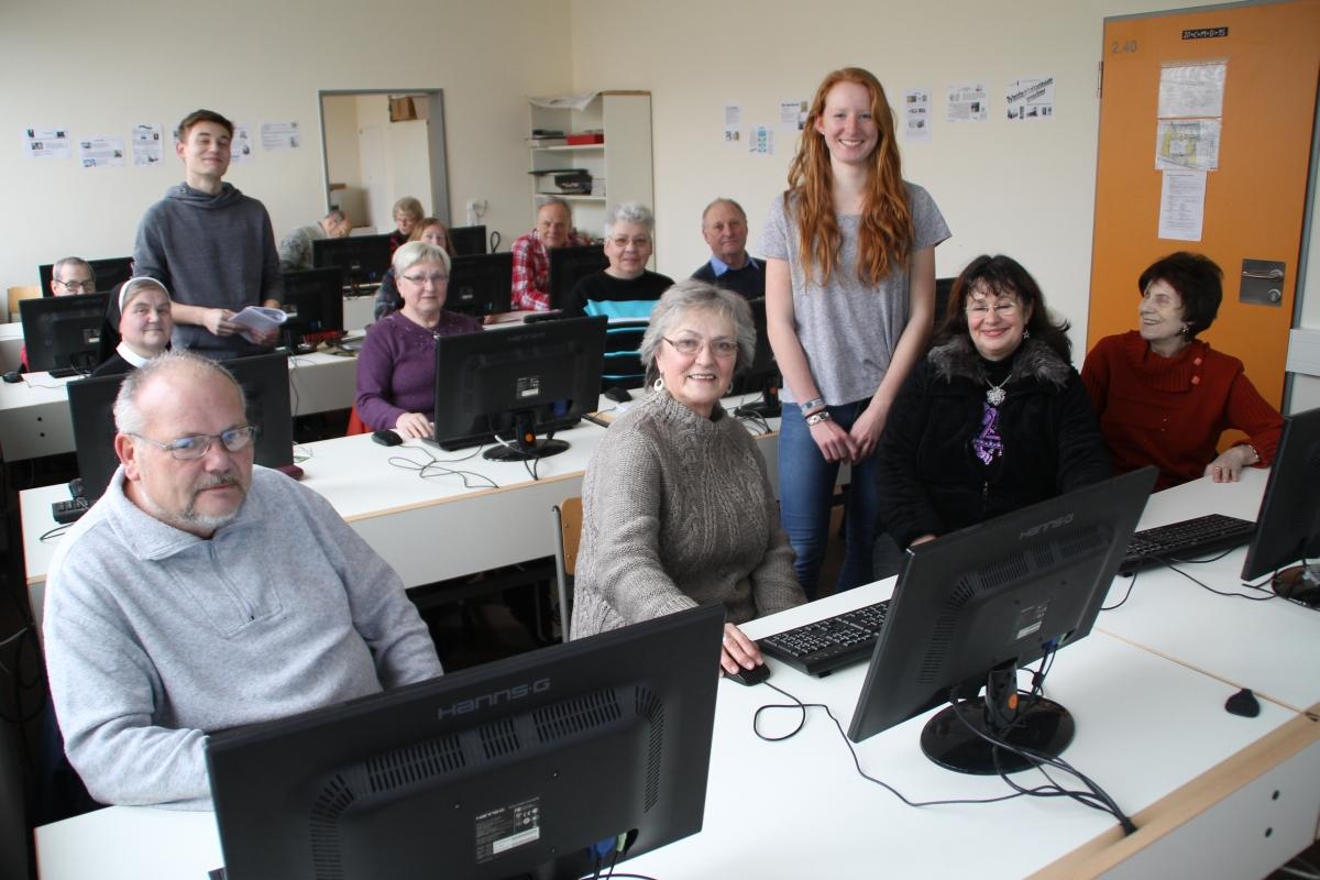 Don Bosco Schule Rostock Unterricht Senioren Computer