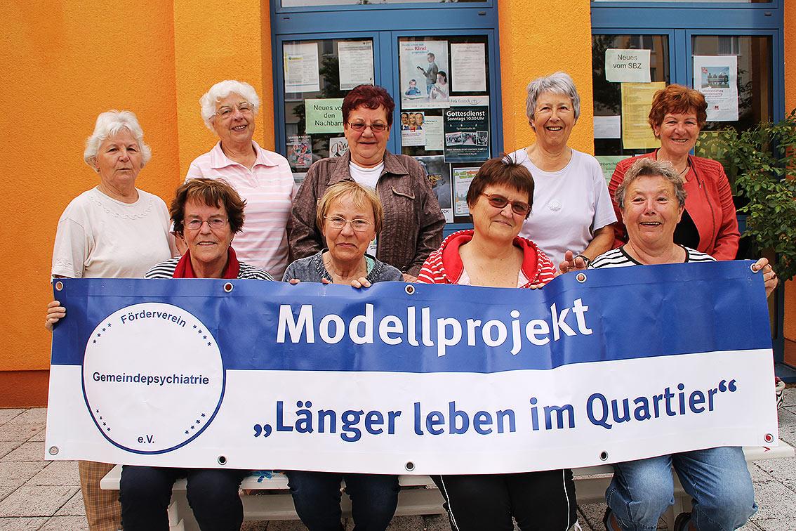 Modellprojekt Länger leben im Quartier, Rostock